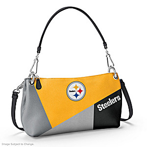 Pittsburgh Steelers Convertible Handbag: Wear It 3 Ways