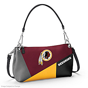 Washington Redskins Convertible Handbag: Wear It 3 Ways