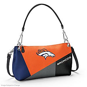 Denver Broncos Convertible Handbag: Wear It 3 Ways