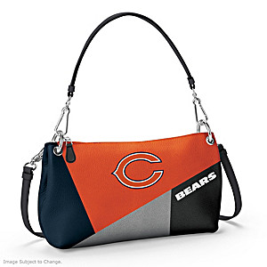 Chicago Bears Convertible Handbag: Wear It 3 Ways