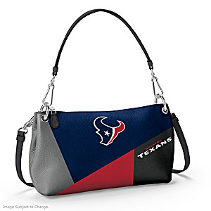Houston Texans Convertible Handbag: Wear It 3 Ways