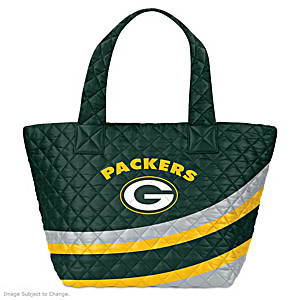 Green Bay Packers Nylon Quilted Tote Bag