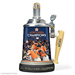 Houston Astros 2017 World Series Commemorative Stein