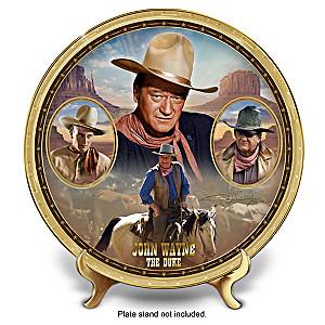 """John Wayne: The Duke"" Heirloom Porcelain Collector Plate"