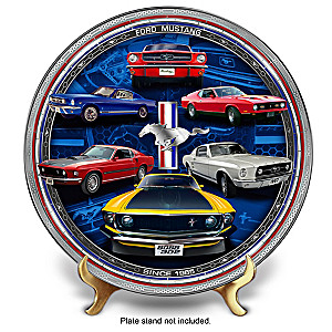 Ford Mustang Masterpiece Edition Porcelain Collector Plate