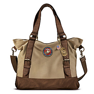 Armed Forces U.S. Marine Corps Women's Canvas Handbag