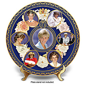 Princess Diana 20th Anniversary Porcelain Collector Plate