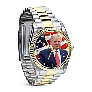 President Donald J. Trump Stainless Steel Men's Watch