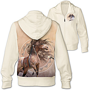 Spirit Of The Painted Pony Women's Hoodie