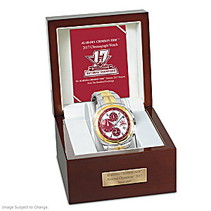 2017 Football National Champions Crimson Tide Tribute Watch