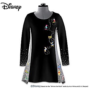 Disney It's All About The Magic Character Art Women's Tunic