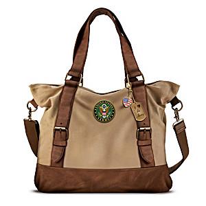 Armed Forces U.S. Army Women's Canvas Handbag