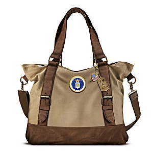 Armed Forces U.S. Air Force Women's Canvas Handbag