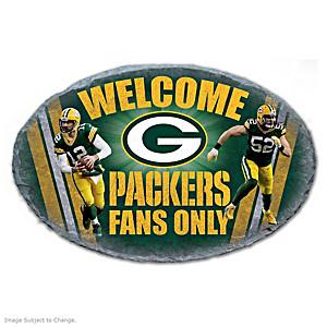 Green Bay Packers Indoor/Outdoor Welcome Sign
