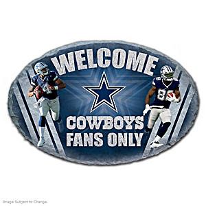 Dallas Cowboys Indoor/Outdoor Welcome Sign