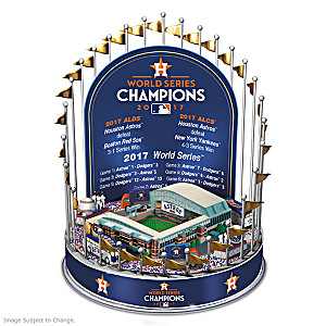 Astros 2017 World Series Champions Lighted Musical Carousel