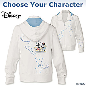 "Disney ""Dream Wish Believe"" Hoodie: Choose Your Character"