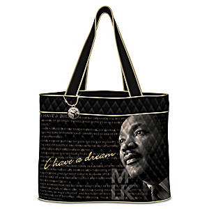 Martin Luther King Jr. Women's Tote Bag With Charm