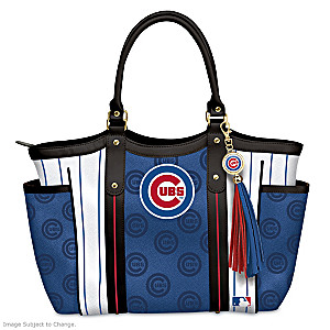 "Officially Licensed ""Home Run Cubs!"" Shoulder Tote"