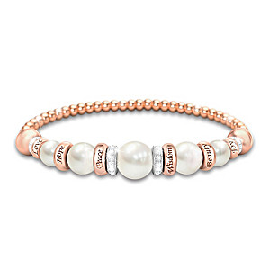 """Pearls Of Serenity"" Women's Healing Bracelet"