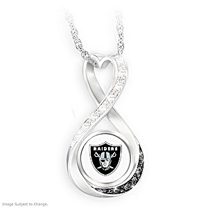 """""""Raiders Forever"""" Infinity Pendant Necklace"""
