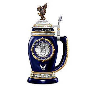 U.S. AIR FORCE VALUES Heirloom Porcelain Stein