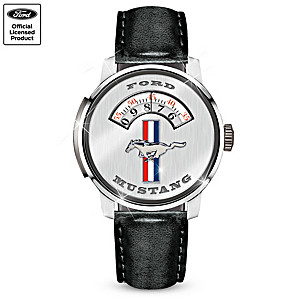 """""""Ford Mustang Cruise-O-Matic"""" Men's Commemorative Watch"""