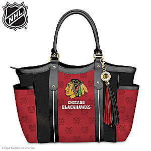 Chicago Blackhawks® Designer-Style Shoulder Tote