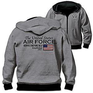 U.S. Air Force Men's Reversible 2-In-1 Hoodie