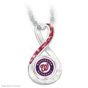 Nationals 2019 World Series Champions Infinity Pendant
