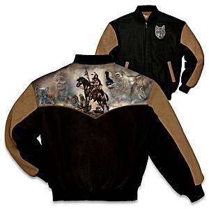 "Russ Docken ""The Wolves Within"" Varsity-Style Twill Jacket"