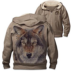 "Al Agnew ""Wild Wolf"" Men's Hoodie"