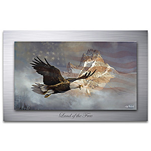 "Ted Blaylock ""Land Of The Free"" Metal Print Wall Decor"