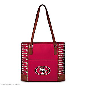 San Francisco 49ers Tote Bag