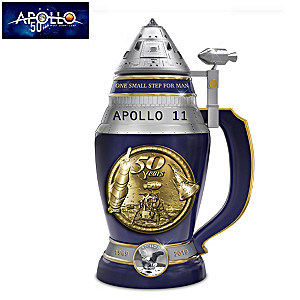 Apollo 11 50th Anniversary Heirloom Porcelain Stein