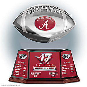 Alabama 2017 Football National Champions Levitating Football
