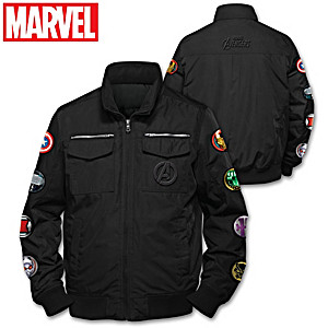 MARVEL Avengers Men's Nylon Jacket