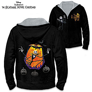 The Nightmare Before Christmas Reversible Women's Hoodie