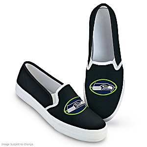 Seattle Seahawks Fashion & Football Women's Shoes
