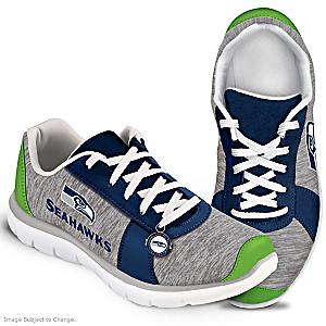 Winning Style Seattle Seahawks Women's Shoes
