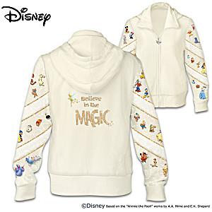 """Believe In The Magic"" Disney Women's Cotton-Blend Hoodie"