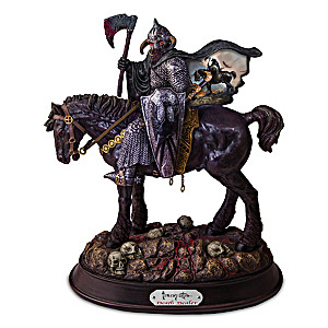 "Frank Frazetta's ""Death Dealer"" Knight Sculpture"