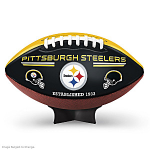 Pittsburgh Steelers Commemorative Football