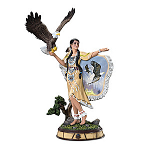 "Ted Blaylock ""Spirit In The Wind"" Mystical Maiden Sculpture"