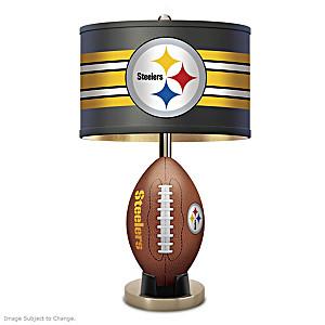 Pittsburgh Steelers Football Table Lamp