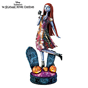 The Nightmare Before Christmas Illuminated Sally Sculpture
