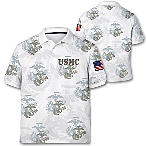 Marine Corps Pride Men's Polo Shirt