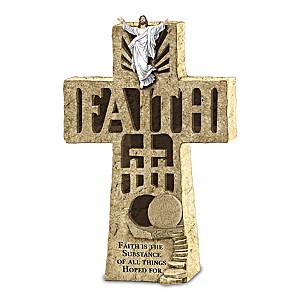 Faith Illuminated Cross Sculpture