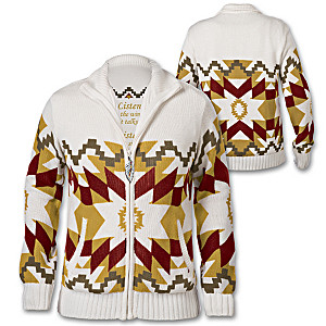 Spirit Of Sedona Women's Zip Sweater Jacket