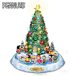 A Good 'Ol-Fashioned PEANUTS Christmas Sculpture
